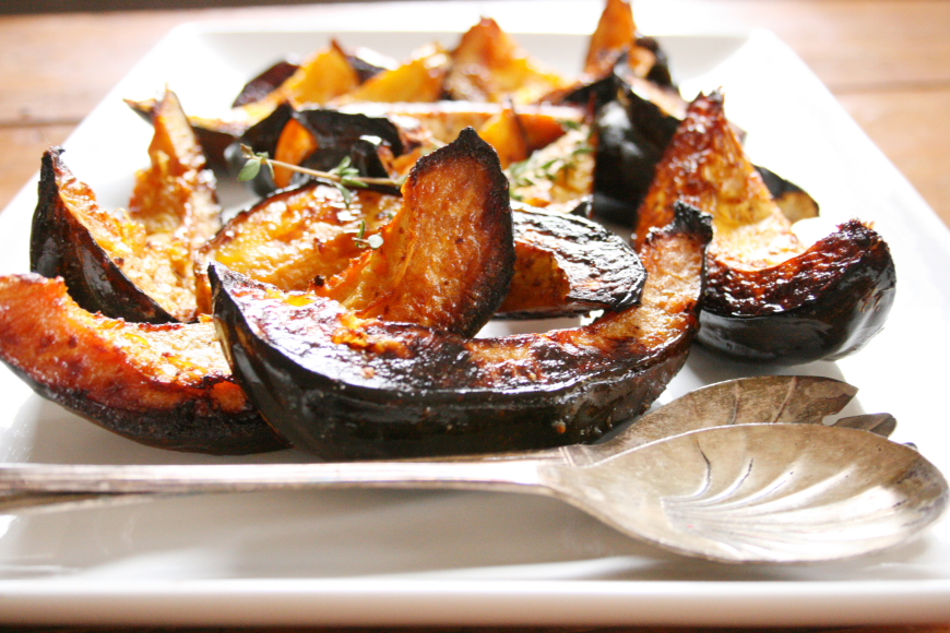 Maple Roasted Acorn Squash Wedges - Nicki SizemoreNicki Sizemore