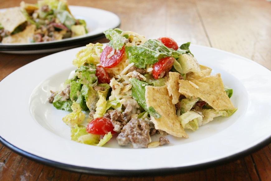 Taco Salad (All Grown Up) - Nick SizemoreNicki Sizemore
