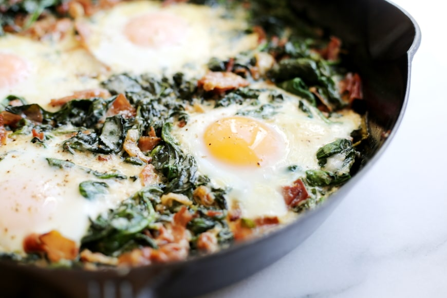 Simple Baked Eggs Recipe
